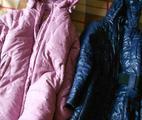 Теплые пальто на синтепоне для девочки