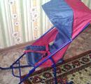 Сани -коляска складные, бу